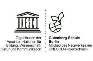 UNESCO Projektschulen Gutenberg-Schule Logo